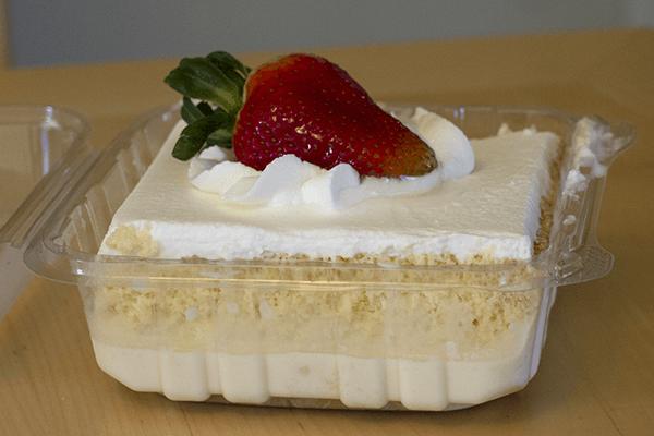 The Tres Leche Cake ($2 50)
