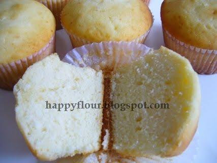 Happy Flour  Vanilla Buttermilk Cupcakes