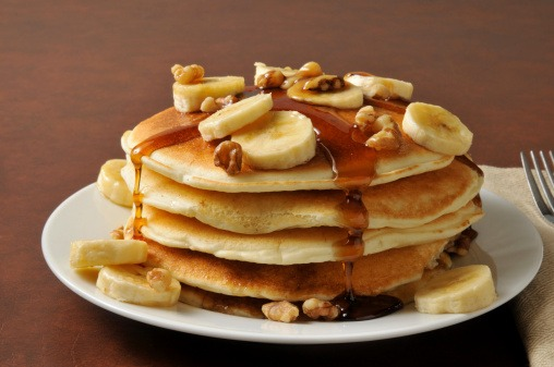 Pancakes De Banano Integrales