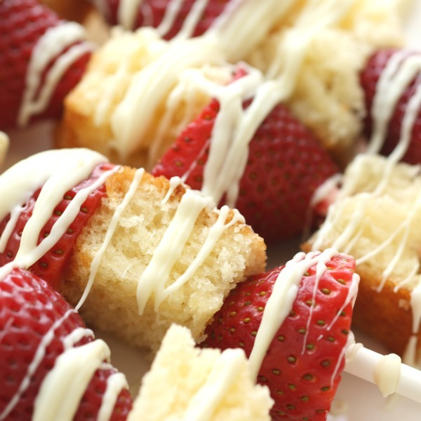 Strawberry Shortcake Shish Kabobs