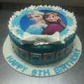 Frozen Cake Images