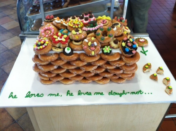 Fans Decorated Krispy Kreme Doughnut Cakes To Celebrate The Re