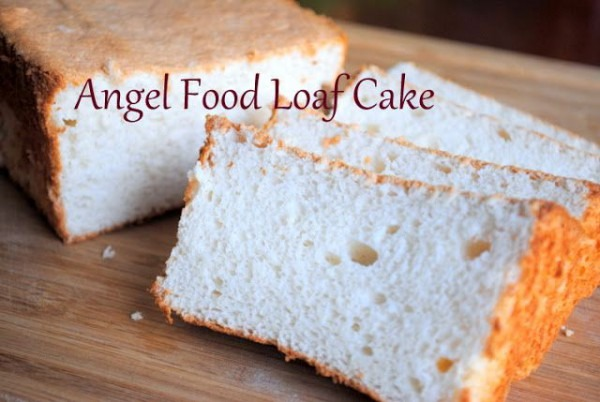 Angel Food Cake In A Loaf Pan