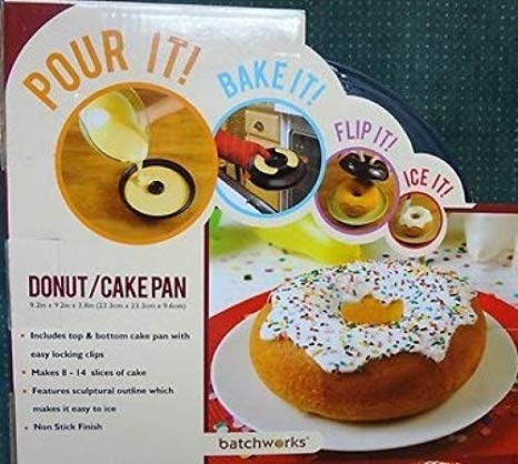 Amazon Com  Giant Donut Cake Form By Batchworks  Baking Molds