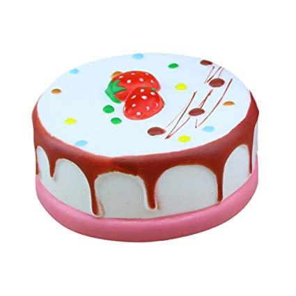 Amazon Com  Vipe Slow Rising Squishy Slice Jumbo Squishies Cake