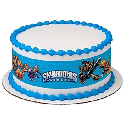Amazon Com  Skylanders Licensed Birthday ~ Edible Cake Topper ~ 1