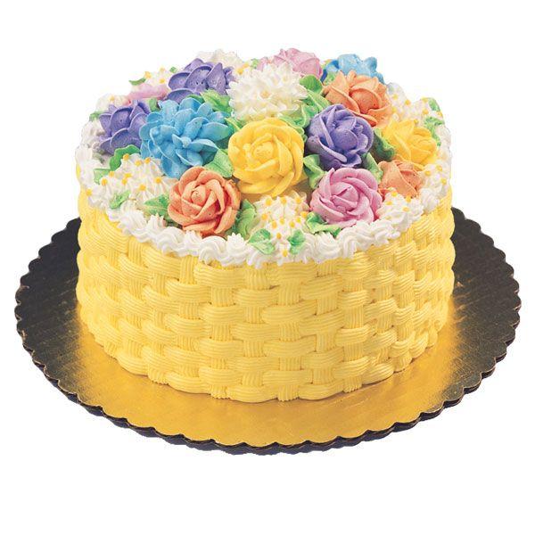 Basket Weave Cake Via Publix