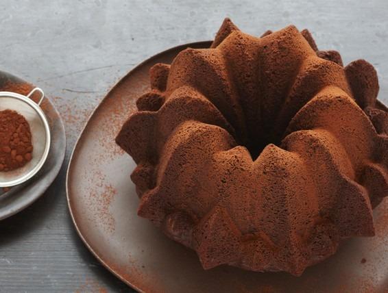 Recipe  Devil's Food Pound Cake