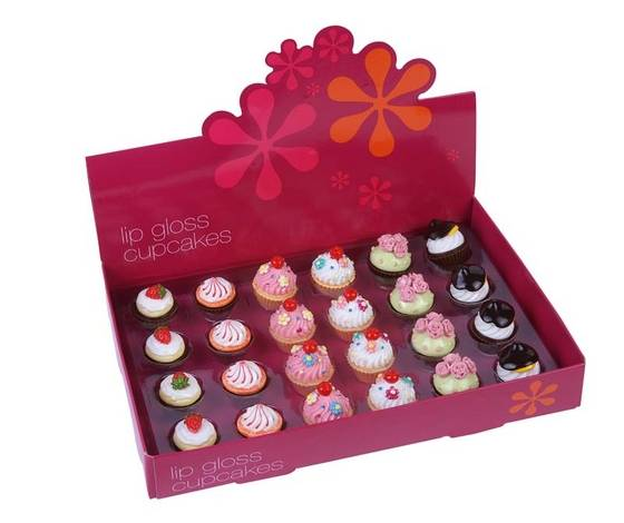 Beautiful Mini Cupcake Lip Gloss Cosmetic Gift(id 3873192) Product