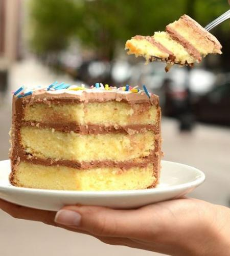 Cake Tasting At Flour Bakery + Cafe