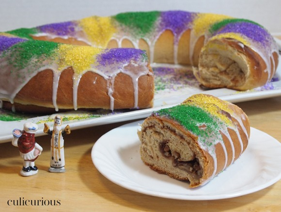Cinnamon Pecan King Cake Recipe