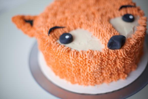 How To Make A Furry Fox Cake ⋆ Handmade Charlotte