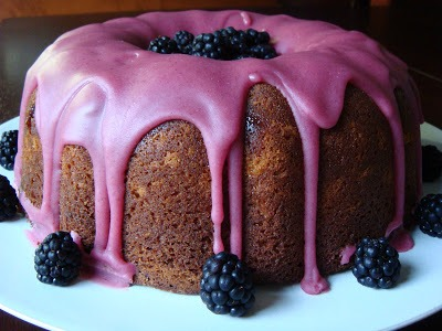 Salt And Chocolate  Blackberry Jam Cake