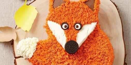 Fergus The Fox Cake