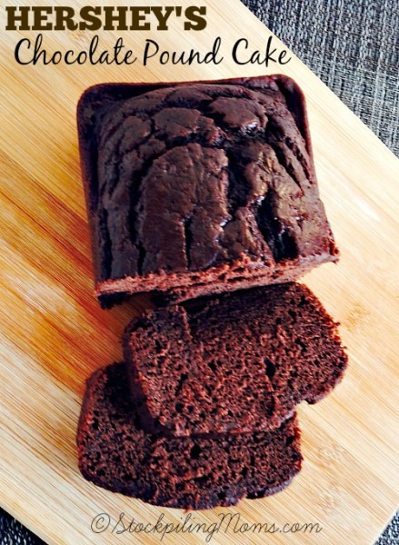 Hershey's Chocolate Pound Cake