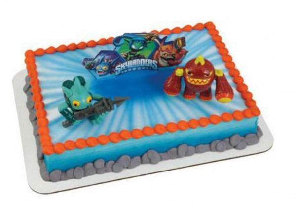 Skylanders Cake Decoration Decoset Cake Topper Set Party Toys