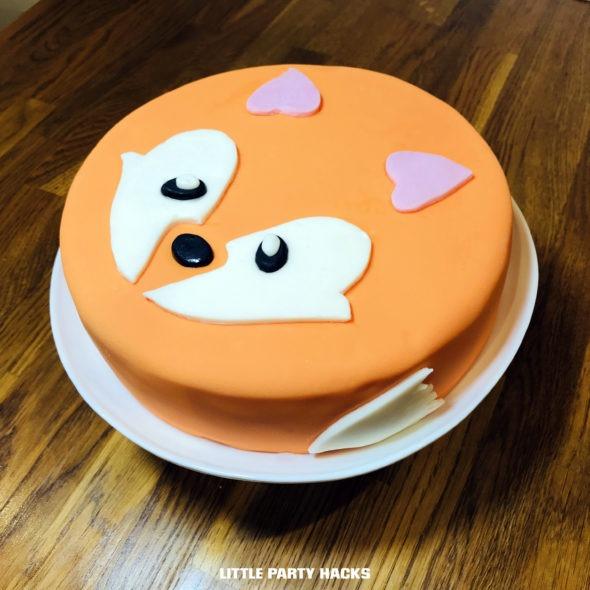 Fabulous Fox Birthday Cake Hack