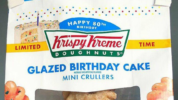 Krispy Kreme's 'glazed Birthday Cake' Donuts Are Like Mini Parties