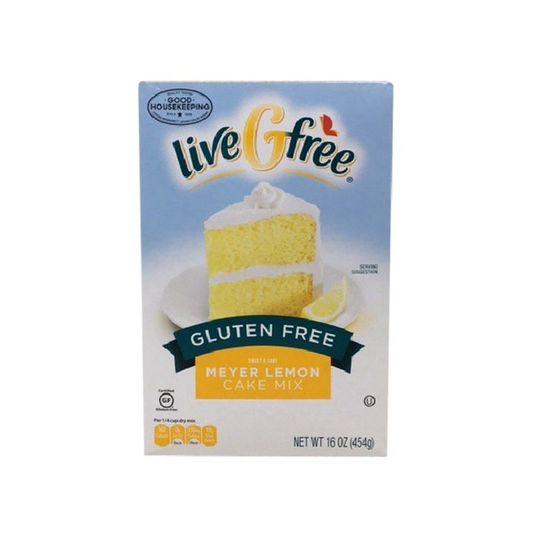 Livegfree Gluten Free Lemon Cake Mix (16 Oz) From Aldi