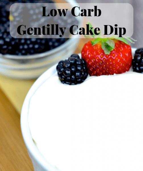 Low Carb Gentilly Cake Dip Recipe – Skinny Louisiana