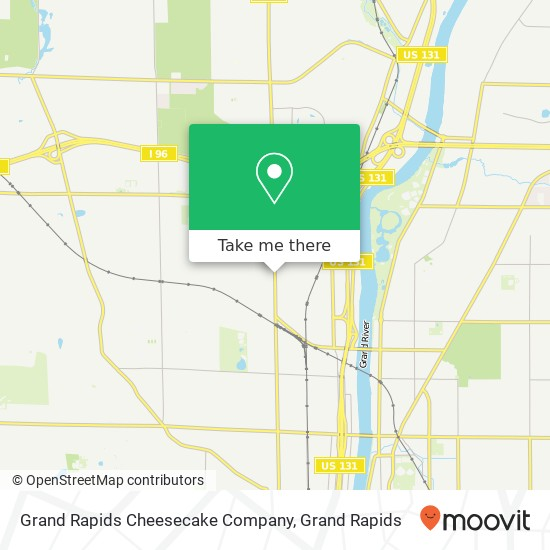 How To Get To Grand Rapids Cheesecake Company In Walker By Bus