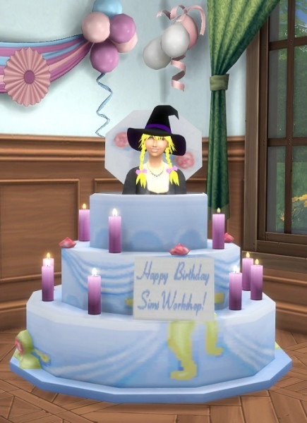 Birthday Cake Sims 4 Cheat – The Cake Boutique