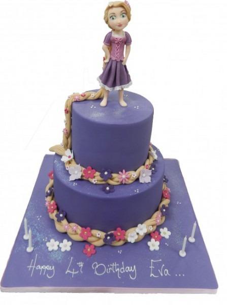 Rapunzel Cake Ideas