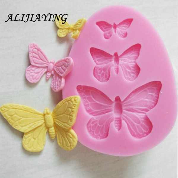 Aliexpress Com   Buy 1pcs Sugarcraft Butterfly Silicone Molds