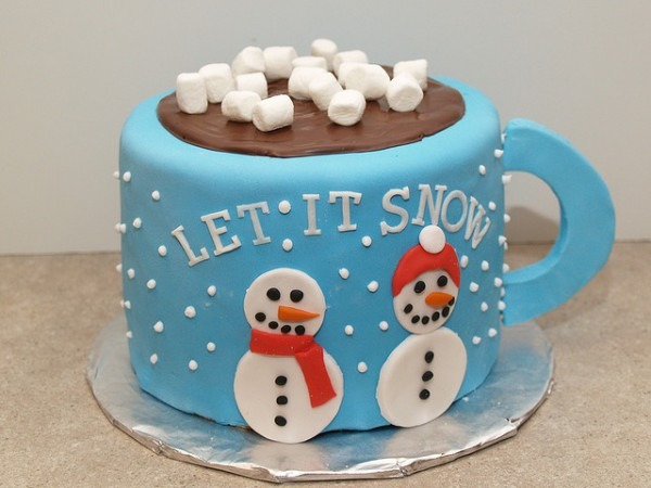 Mug Of Hot Cocoa Cake