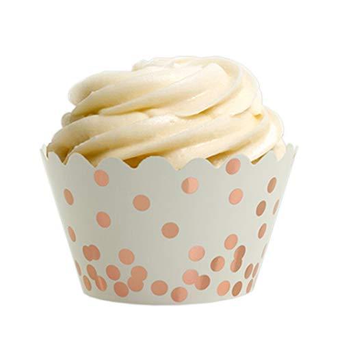Rose Gold Cupcakes  Amazon Com