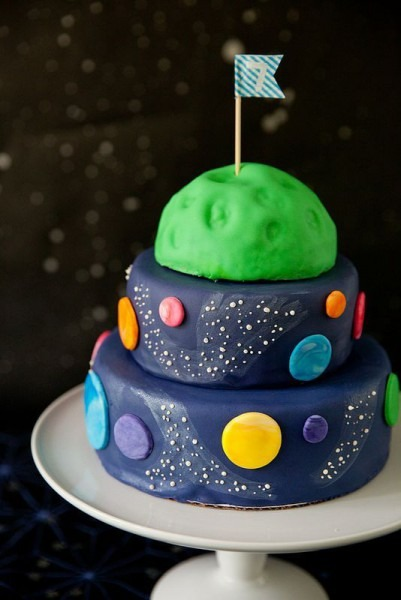 Andrew's Outer Space Birthday Party (annie's Eats)