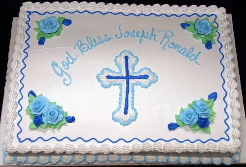 Baptism Sheet Cake I Wished I Had Seen This Design Before Ordering