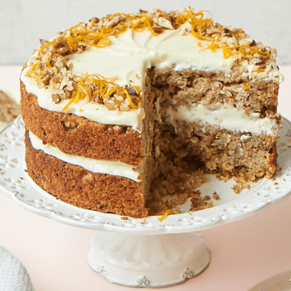 Gbbo Nadiya Hussain's Parsnip And Orange Spiced Cake
