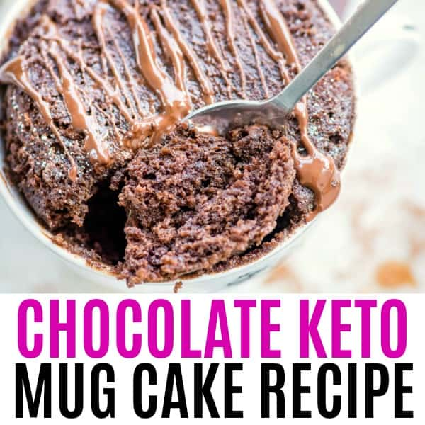 Chocolate Keto Mug Cake ⋆ Real Housemoms