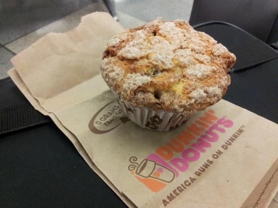 Coffee Cake Muffin At Dunkin Donuts
