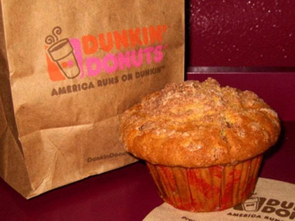 Dunkin' Donuts' Coffee Cake Muffin