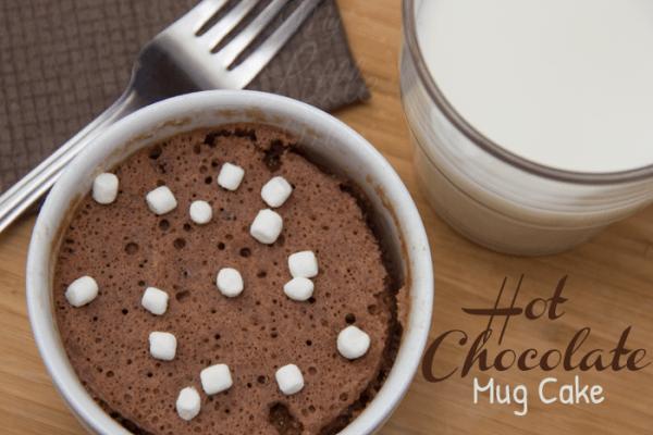 Hot Chocolate Mug Cake Recipe