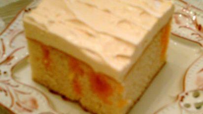 Orange Dream Cake Recipe