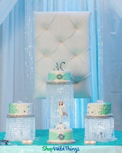 Quincea–era Cake And Party Decoration Ideas