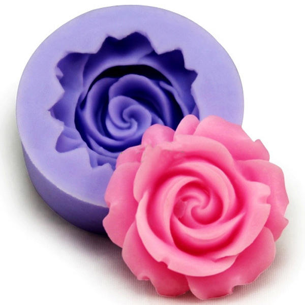 3d Silicone Rose Fondant Mold Pasrty Cake Decorating Mould Baking