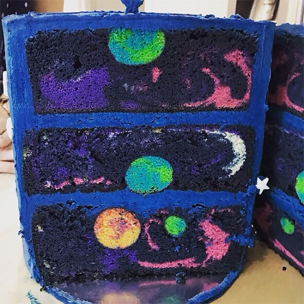 This Space Themed Birthday Cake Is Out Of This World