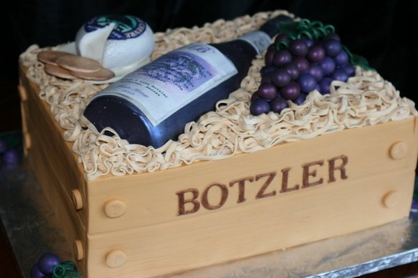 The 21 Most Amazing Wine Inspired Cakes We've Ever Seen